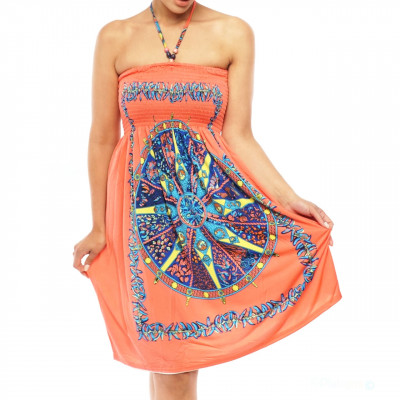 Bandeau Kleid Strandkleid Tuchkleid boho Abendkleider