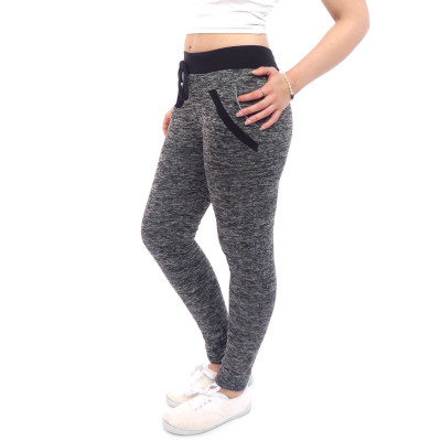 damen  Sporthose Sportleggins Sport jeggings warm gefüttert