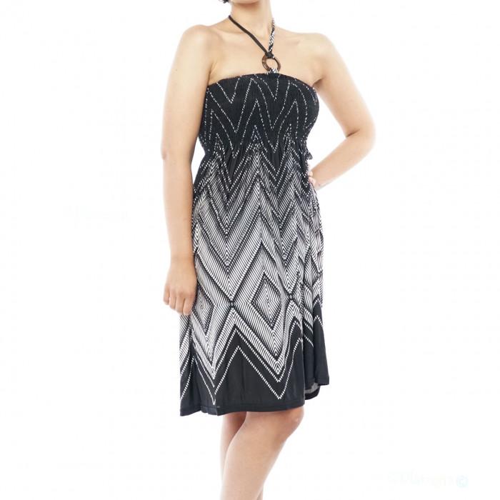 Evening  Dress Neckholder Bandeau Dress