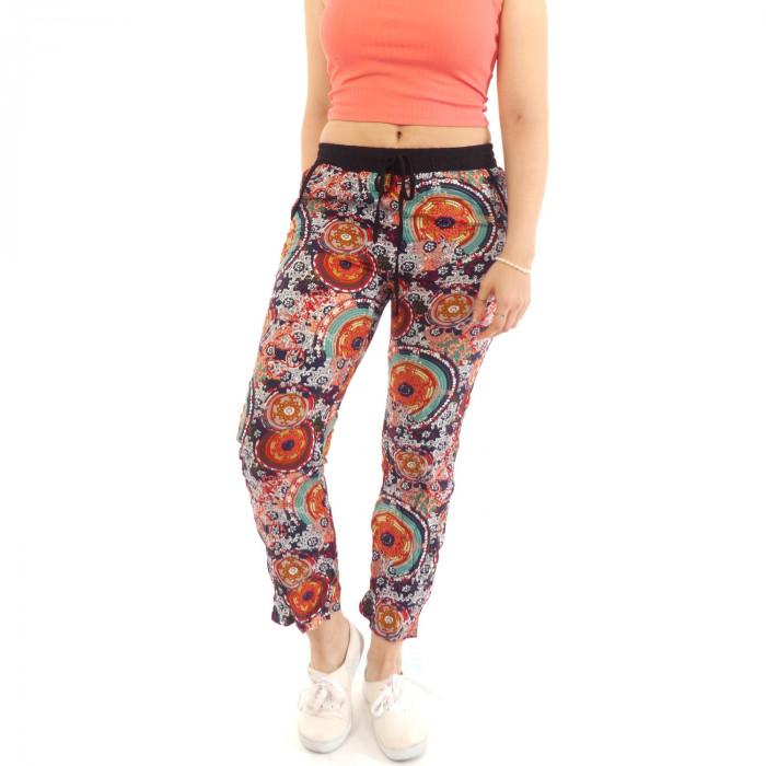 batik summer pants leisure beach spring