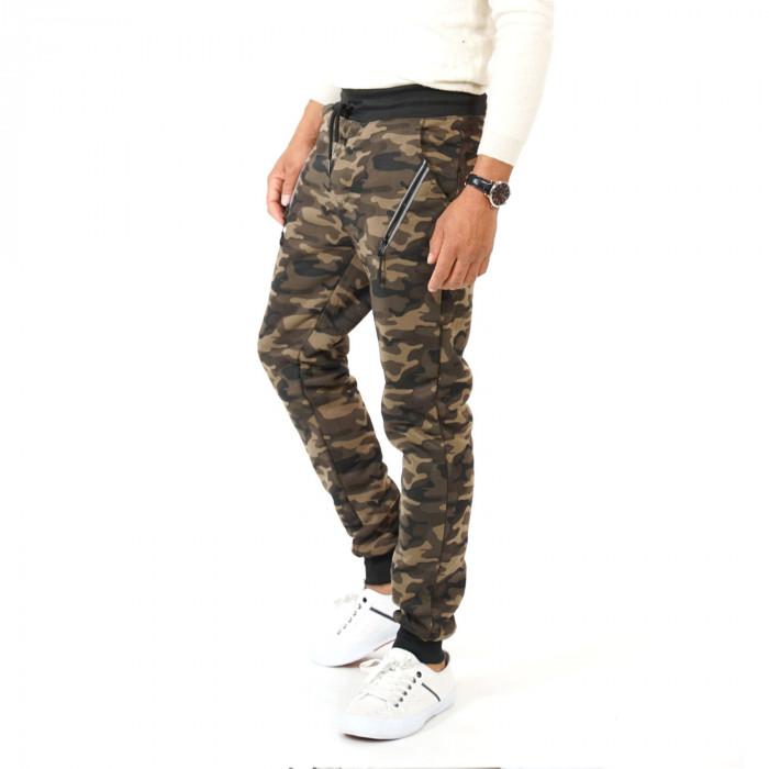 Men's camouflage sweatpants