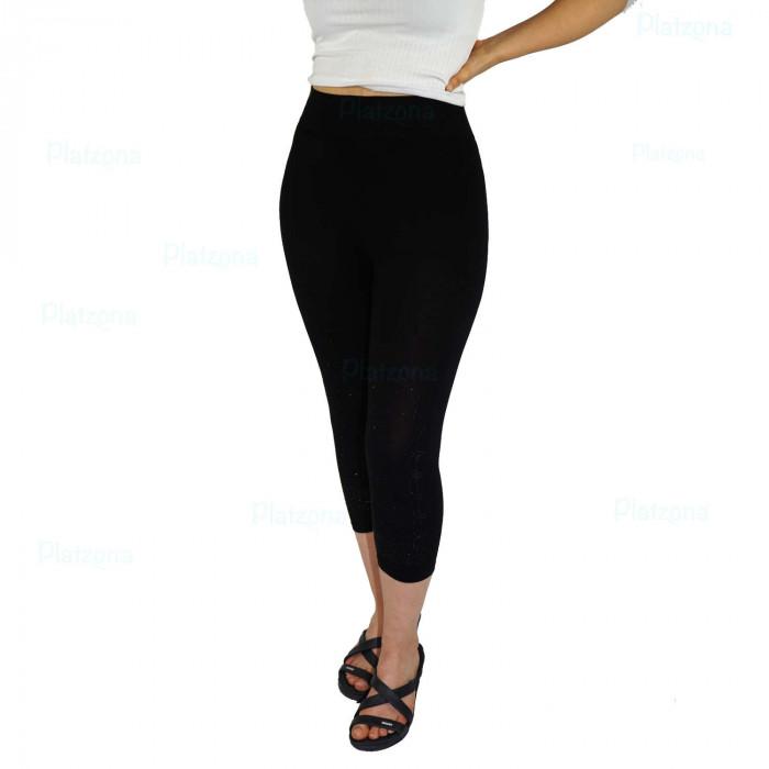 basic noble half-length leggings everyday leisure one size SML