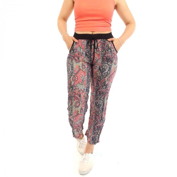 batik summer pants leisure Ocean spring