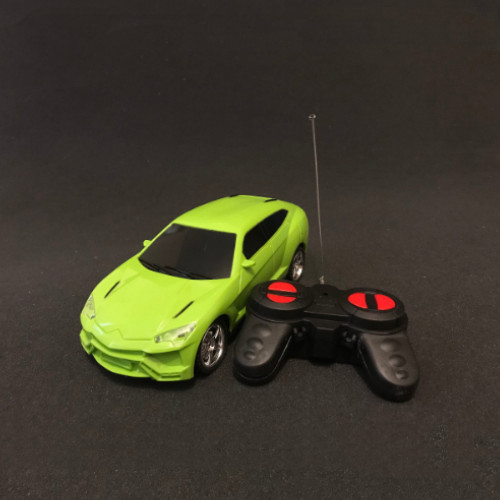 Simulation Remote Model  control RC  Racing Car Auto Grün