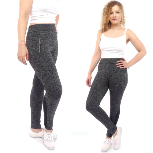 damen leggings Sporthose Sportleggins Business jeggings