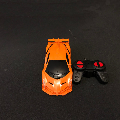 Remote control RC 1/18 Racing Car Autos Orange
