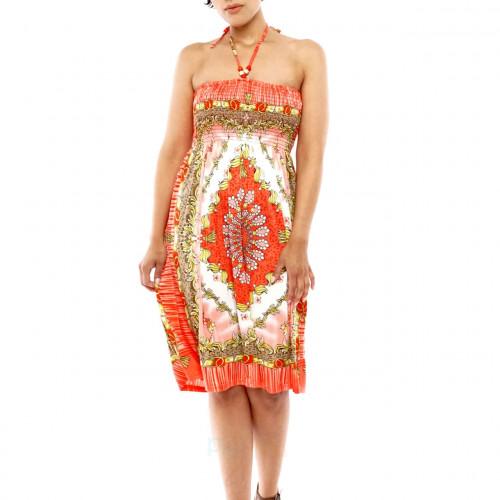 Neckholder Damen Bandeau Kleid