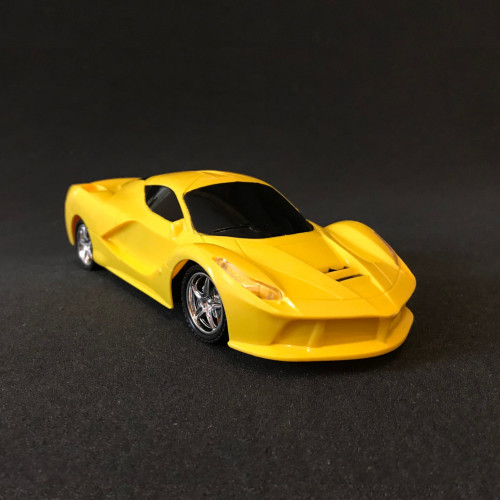 Remote control RC 1/18 Racing Car Autos gelb