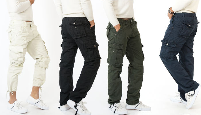 Cargo Camouflage Pants